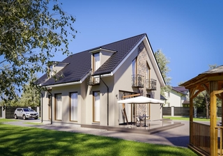 Casa cu mansarda suprafata utila mare