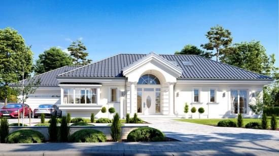 Vila eleganta cu parter si mansarda