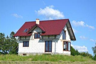 model de casa construita dupa proiect