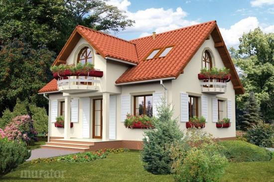 Casa visurilor tale: are mansarda si o suprafata utila de 108 mp