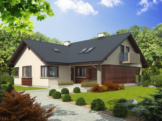 Casa parter si mansarda in forma de l - Fotos de casas en forma de l ...