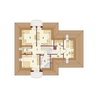 Delimitare camere la etaj