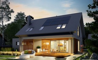 Iluminat exterior pentru terasa