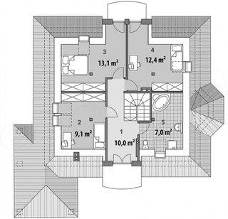 Plan etaj cu cote