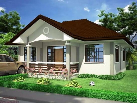 Casa cu o camera - proiect perfect pentru tineri in doar 39 de mp