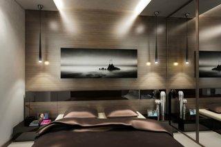 Dormitor modern cu dressing