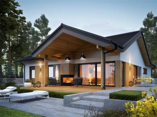 O frumusete de casa cu parter - visul oricarei familii de 4 persoane (PLAN DETALIAT)