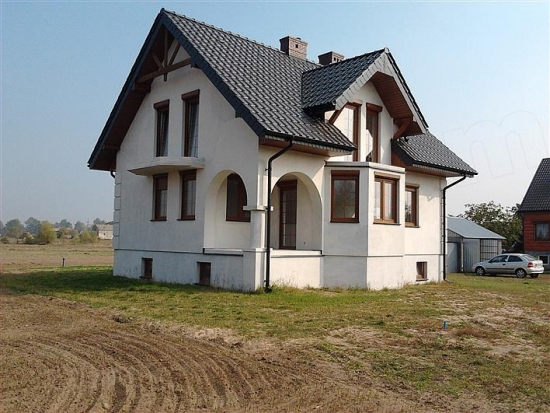 Casa construita dupa proiect
