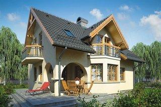 Proiect de casa cu pivnita mare