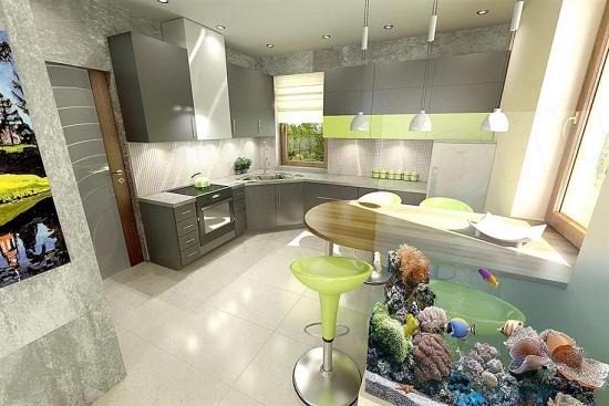 Proiect de design bucatarie moderna