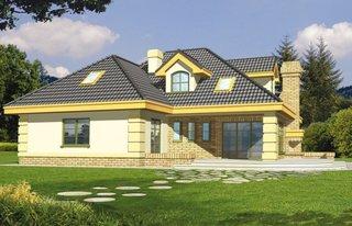 Casa mare cu mansarda