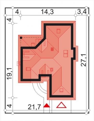 Dimensiuni casa mare cu mansarda