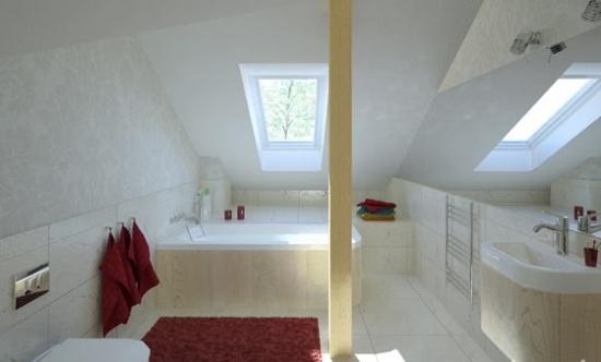 Amenajare baie in pod locuibil