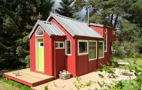 Casa mica in stil scandinav