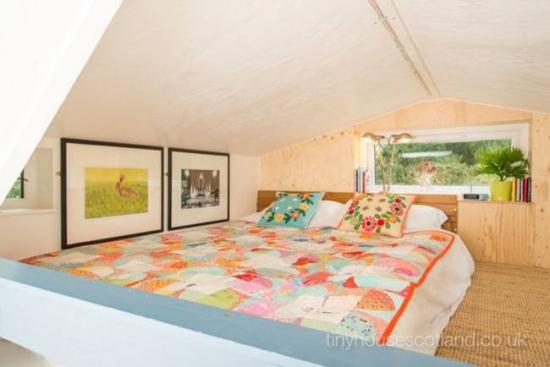 Dormitor in stil loft