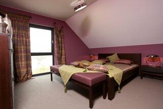 Dormitor matrimonial la mansarda