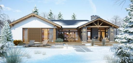 Casa de vis cu parter, ideala pentru o familie de pana la 6 persoane