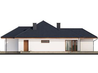 Elevatie fatada casa cu parter
