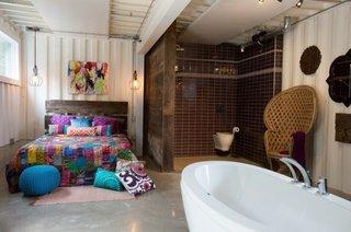 Dormitor matrimonial cu baie