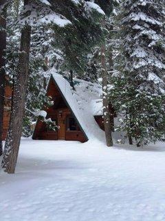Casa din lemn montana
