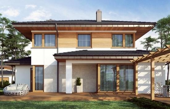 Proiect de casa eleganta cu etaj
