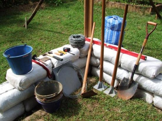 1. Materiale necesare pentru constructie