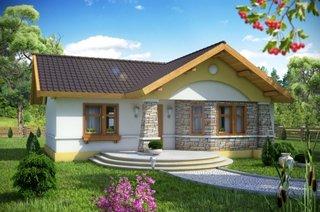 Proiect casa parter fara garaj