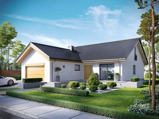 Casa frumoasa cu garaj dublu