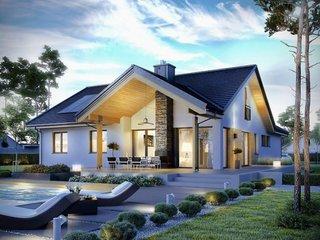 Casa frumoasa cu pod