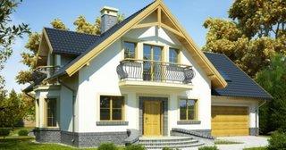 Casa cu trei balcoane