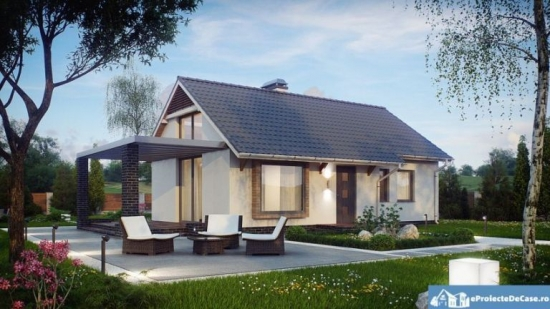Casa parte cu costuri reduse de constructie