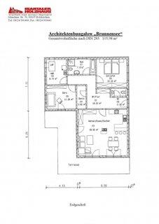 Plan casa simpla 2 dormitoare si birou