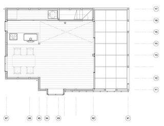 Plan etaj casa din lemn