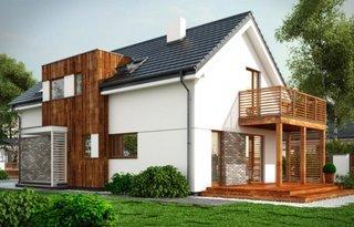 Casa cu forma interesanta