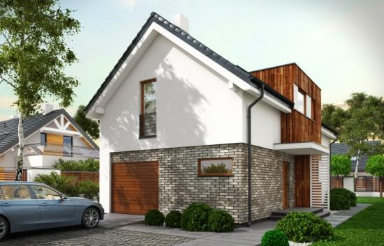 Casa ingusta cu 3 dormitoare si forma neobisnuita