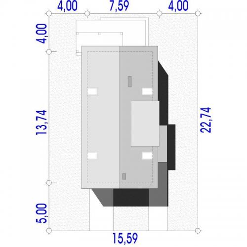 Dimensiuni teren casa cu 3 camere