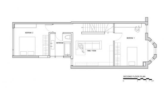 Plan etaj casa ingusta