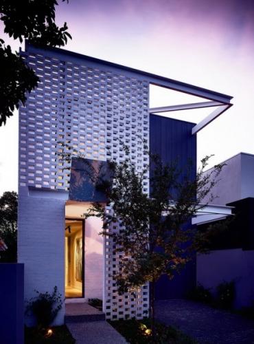 Proiect inteligent al unei case inguste si moderne din Australia
