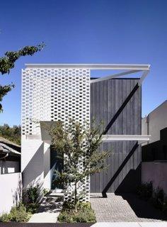 Proiect modern de casa ingusta parter