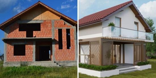 Casa la rosu vs casa la cheie - care sunt diferentele si de ce ai cumpara o casa neterminata