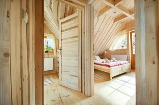 Interior cabana integrala din lemn