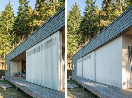 Panouri glisante dn lemn pentru ferestre