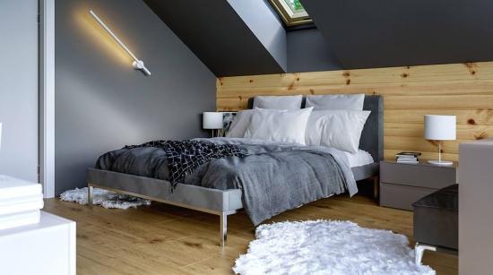 Idee amenajare dormitor cu mobila simpla