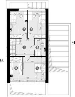 Plan etaj 53,33 mp