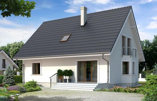 Casa amenajata pe trei niveluri