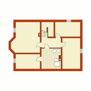 Plan subsol casa cu 4 dormitoare si living
