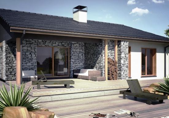 Casa rustica cu 3 dormitoare