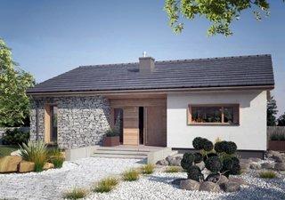 Casa rustica doar cu parter