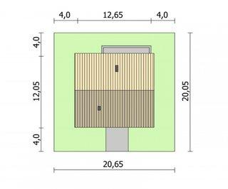 Dimensiuni teren casa cu 3 dormitoare