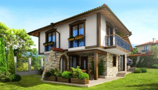 Proiect de casa mica cu doua dormitoare for Planuri de case